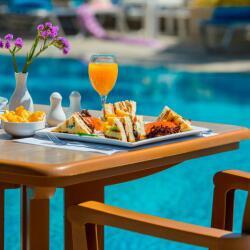 Poolside Lunch At Kapetanios Limassol