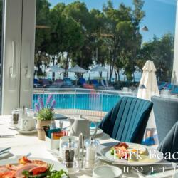 Park Beach Hotel In Limassol Breakfast By The Pool