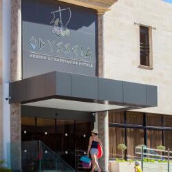 Kapetanios Odysseia Hotel Entrance